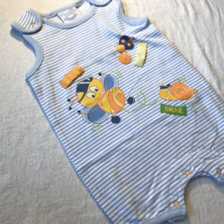 6-9 Month Sleeveless Playsuit.